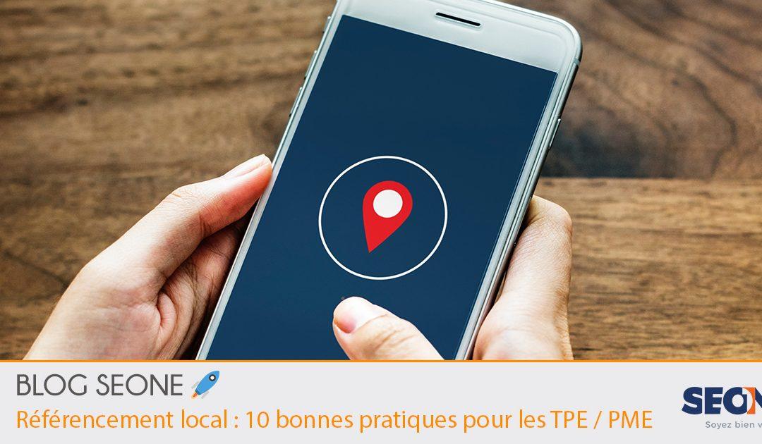 Référencement local: 10 bonnes pratiques pour les TPE / PME