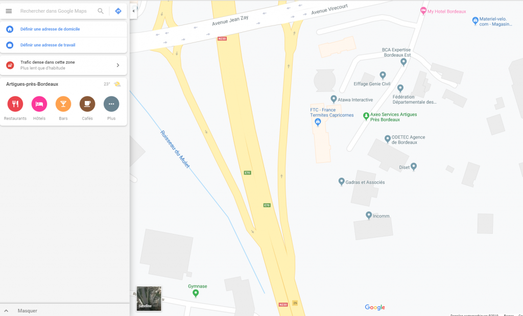 Vue SEONE Google Maps