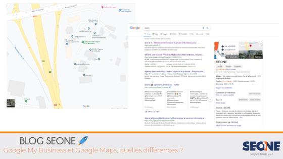 Google My Business et Google Maps, quelles différences ?